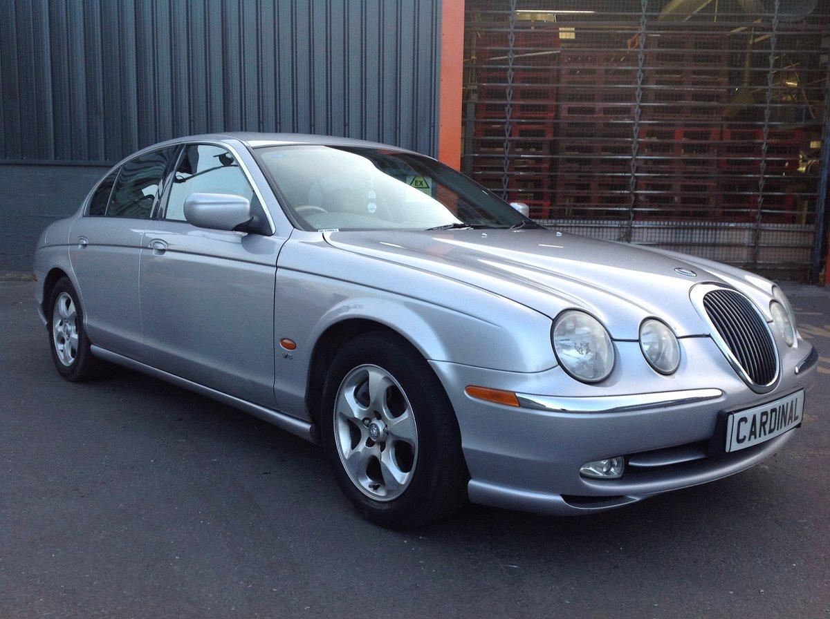 2002 JAGUAR S-TYPE V8 4.0 AUTO For Sale (picture 1 of 6)