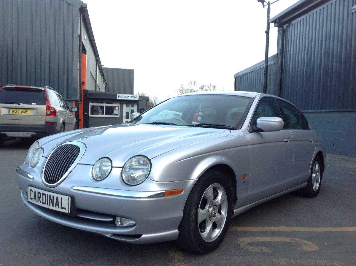 2002 JAGUAR S-TYPE V8 4.0 AUTO For Sale (picture 2 of 6)