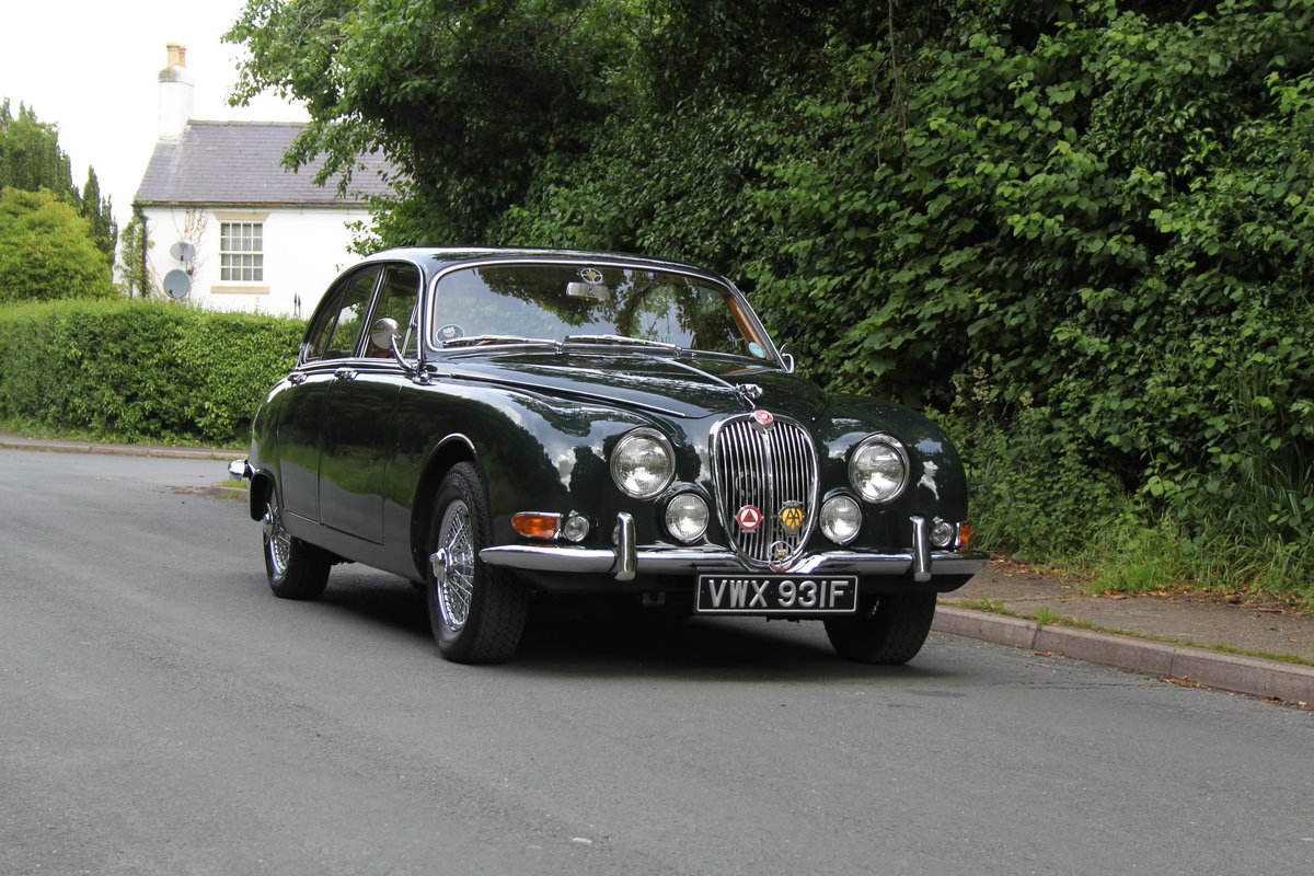 1968 Jaguar S-Type Man O/D, 68k miles warranted, history from new For Sale (picture 1 of 23)