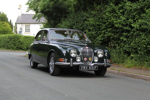 1968 Jaguar S-Type Man O/D, 68k miles warranted, history from new For Sale