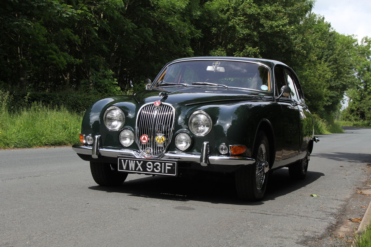 1968 Jaguar S-Type Man O/D, 68k miles warranted, history from new For Sale (picture 3 of 23)