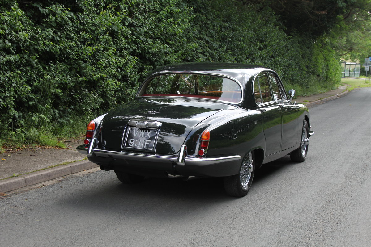 1968 Jaguar S-Type Man O/D, 68k miles warranted, history from new For Sale (picture 6 of 23)