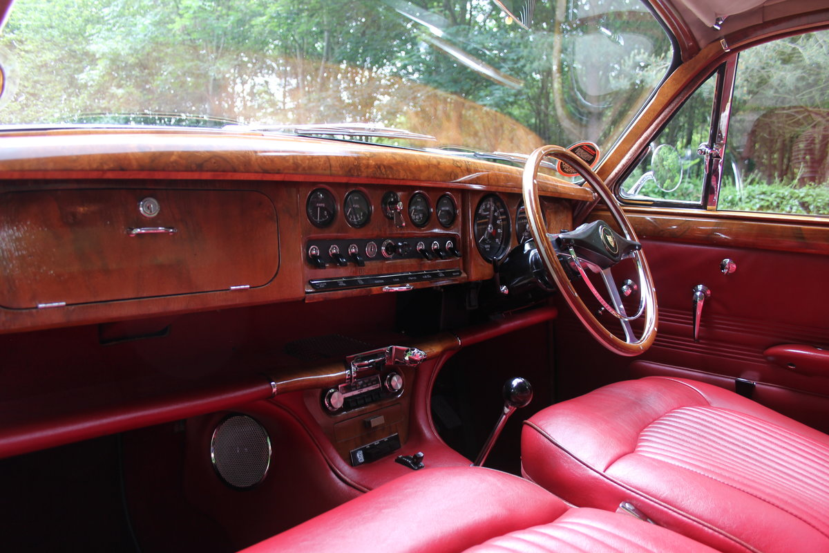 1968 Jaguar S-Type Man O/D, 68k miles warranted, history from new For Sale (picture 10 of 23)