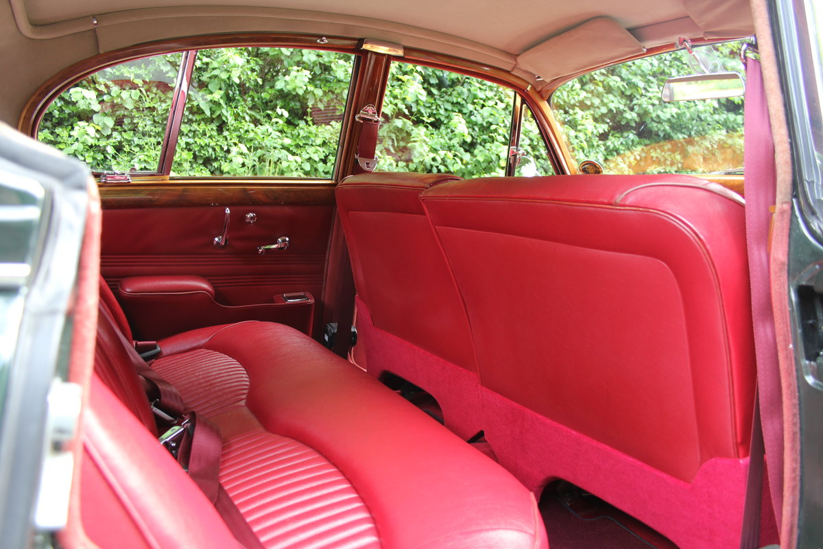 1968 Jaguar S-Type Man O/D, 68k miles warranted, history from new For Sale (picture 14 of 23)