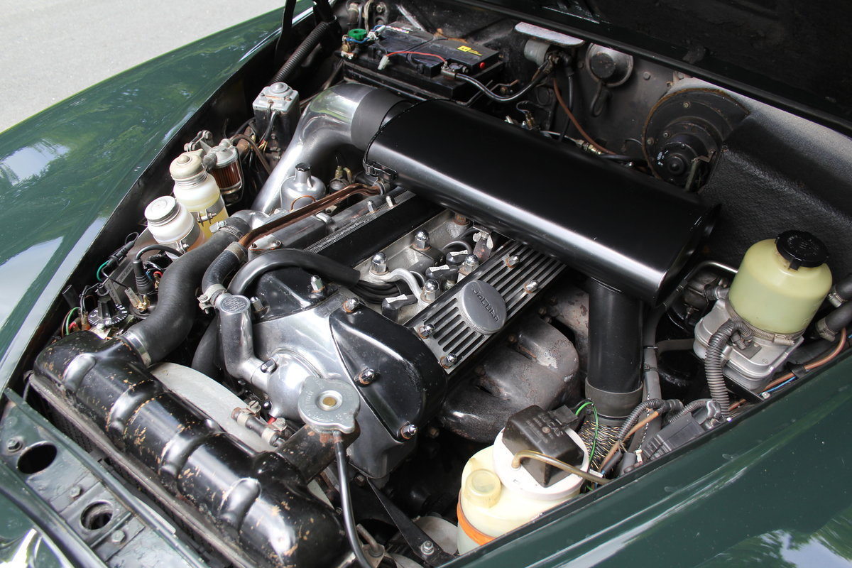 1968 Jaguar S-Type Man O/D, 68k miles warranted, history from new For Sale (picture 18 of 23)