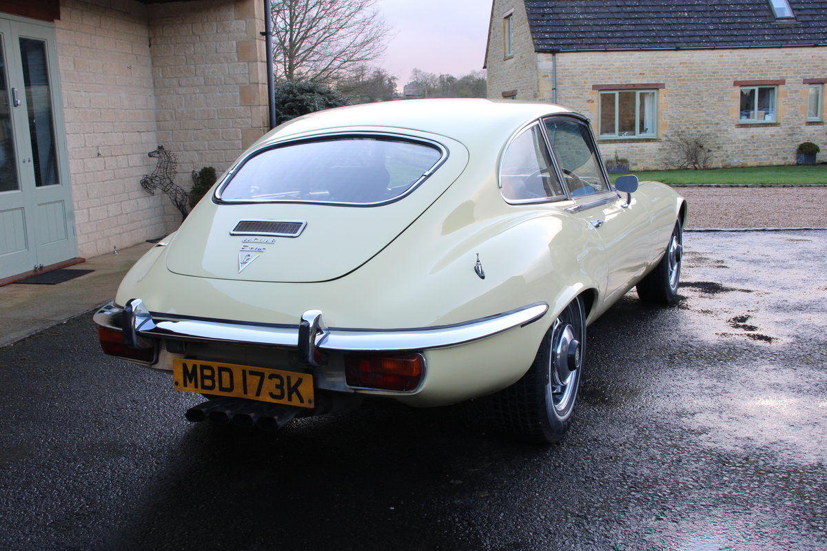 1972 Jaguar V12 Series 3 auto 77,000 miles £54950 For Sale (picture 2 of 20)