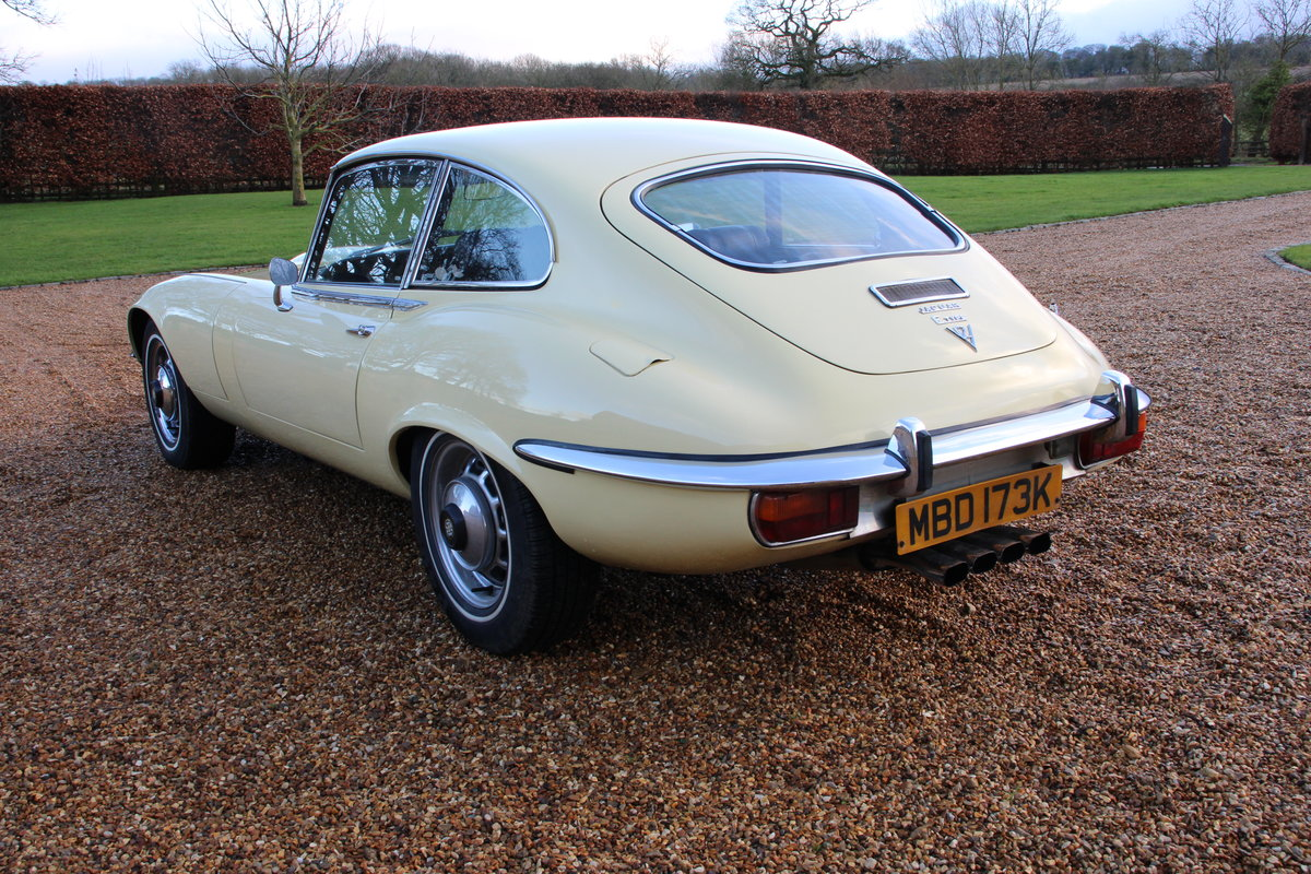1972 Jaguar V12 Series 3 auto 77,000 miles £54950 For Sale (picture 4 of 20)