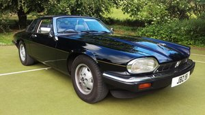 Jaguar XJSC 3.6 a very rare car
