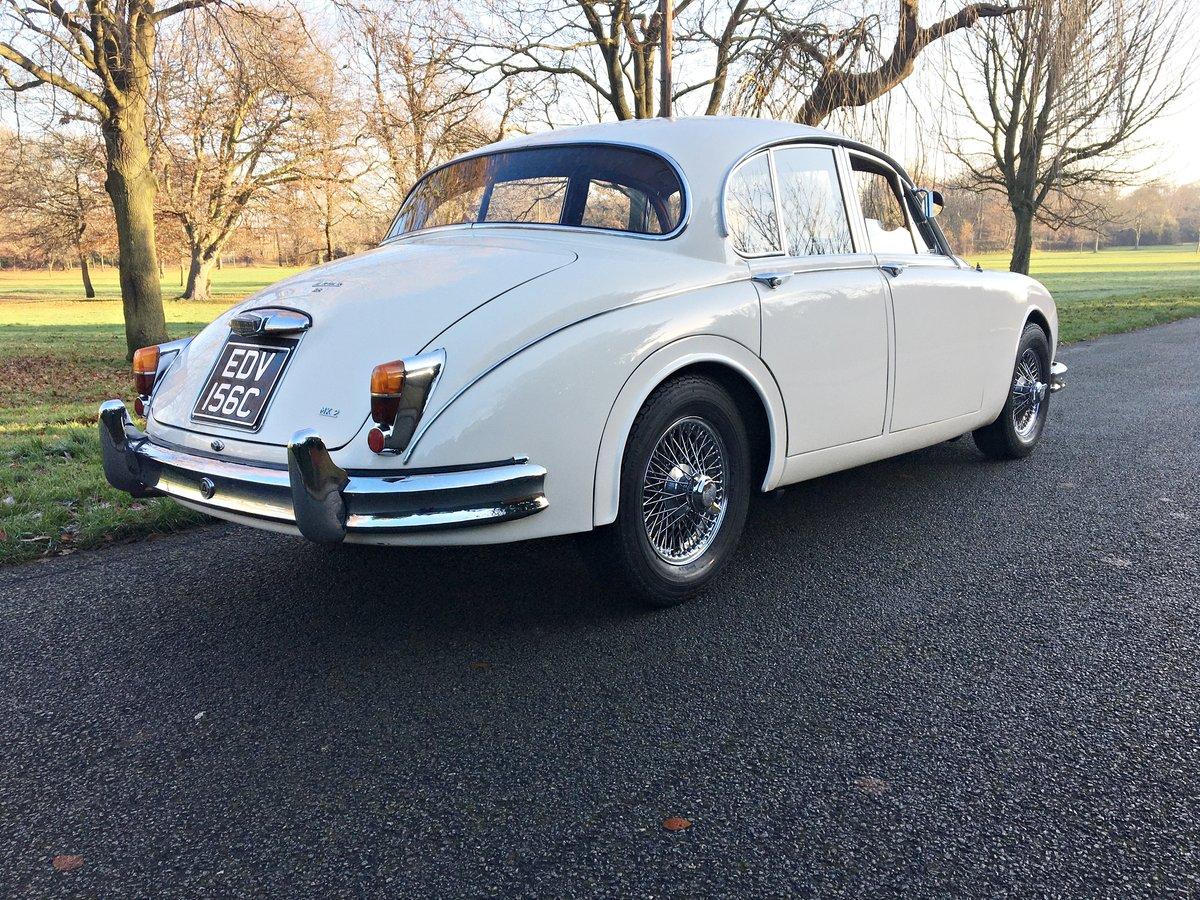 1965 JAGUAR MKII 3.8 MOD. UK CAR For Sale (picture 2 of 6)