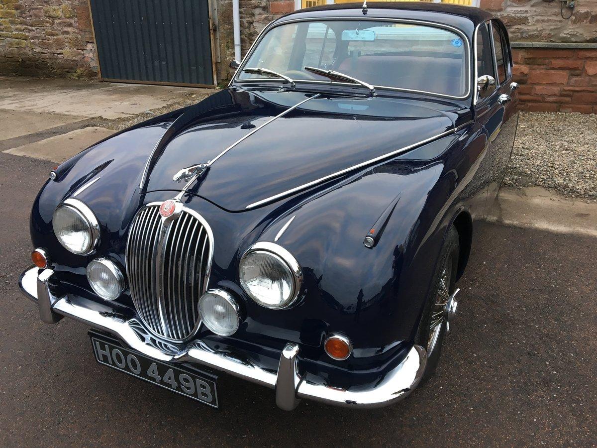 1964 Jaguar MK 2 For Sale by Auction | Car And Classic
