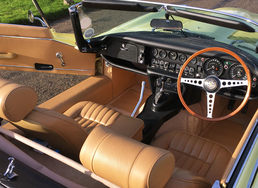 1974 E Type Series 3 V12 Convertible For Sale (picture 4 of 6)