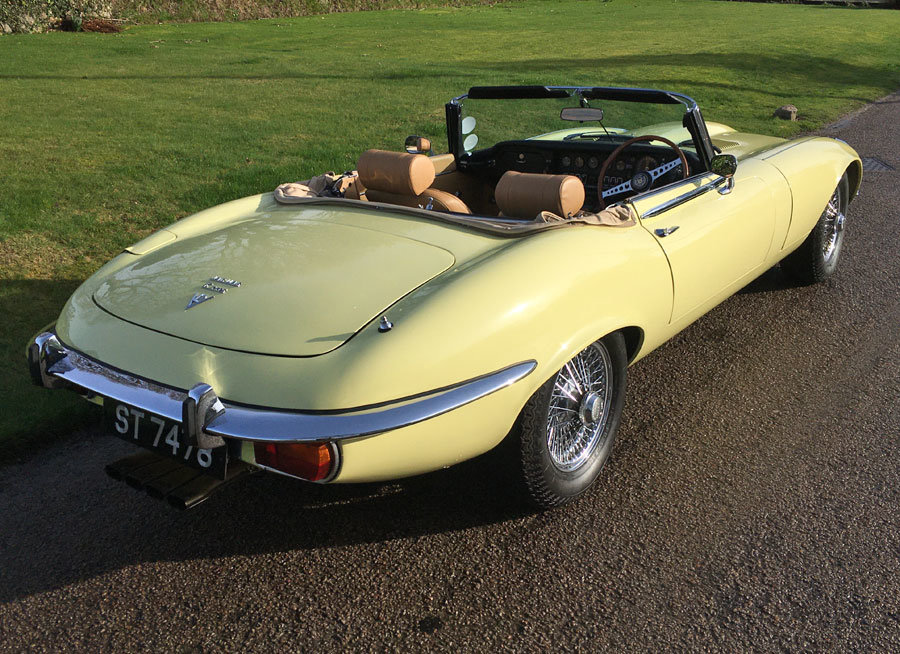 1974 E Type Series 3 V12 Convertible For Sale (picture 5 of 6)