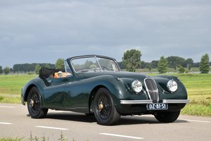 1954 Jaguar XK120DHC SE – Prepared for tall persons For Sale