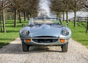 1969 Jaguar E-Type Series II Roadster (4.2 litre) For Sale by Auction