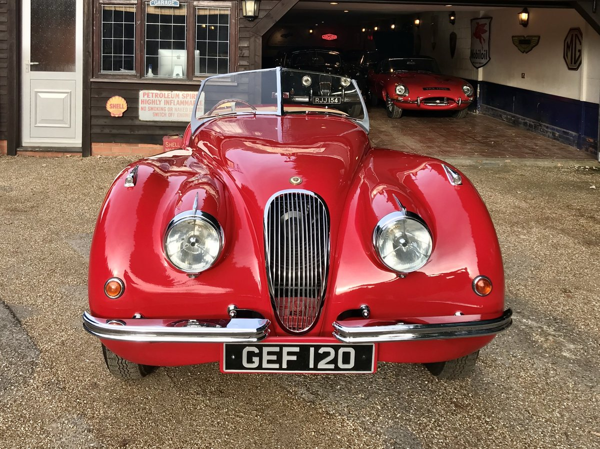 1950 JAGUAR XK120 ROADSTER - with period competition ...