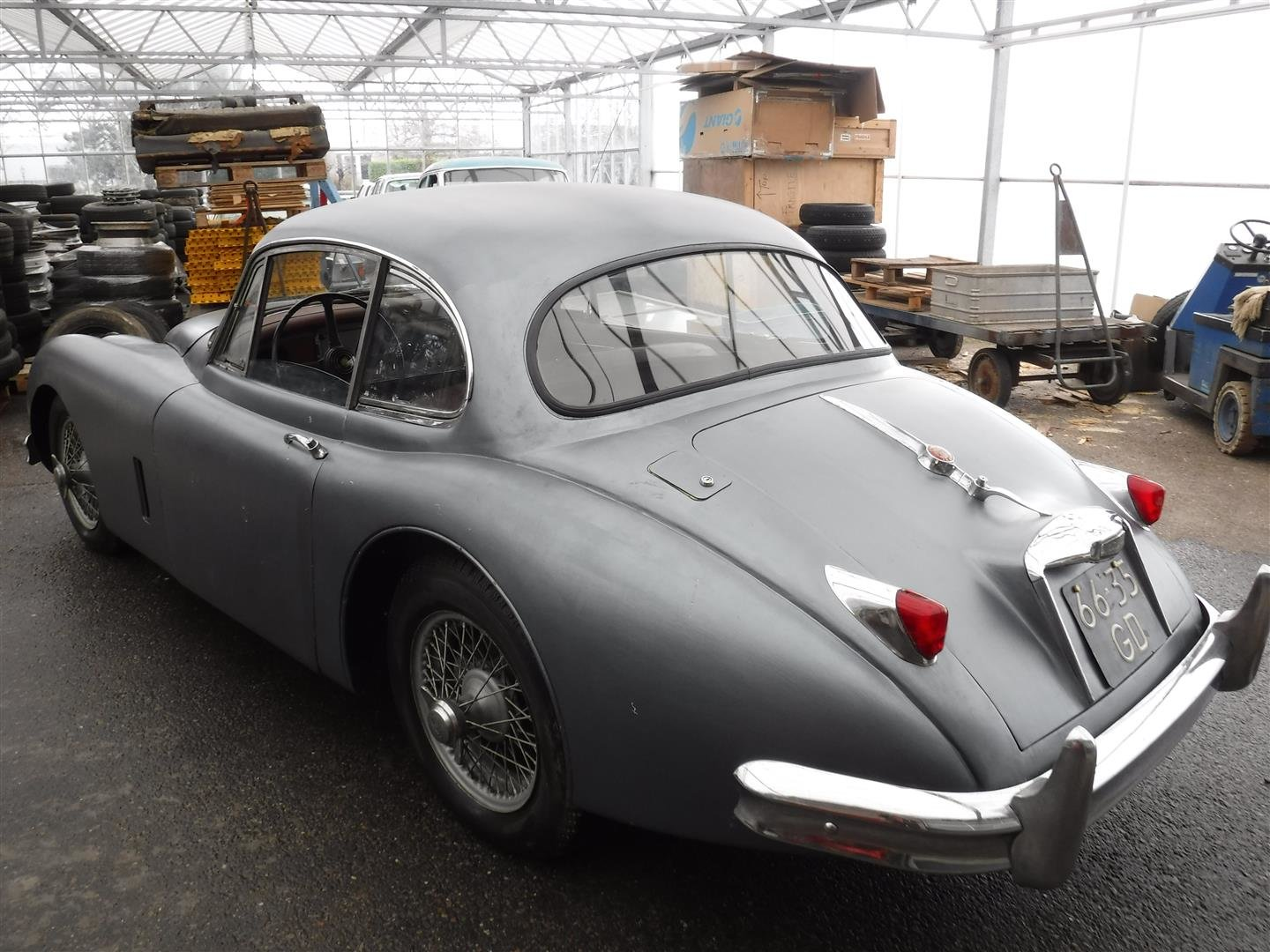Jaguar XK150 1958 (to restore!!) For Sale (picture 3 of 6)