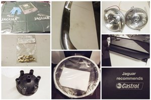 0000 JAGUAR PARTS AND MEMOROBILIA FOR SALE FOR VARIOUS MODELS For Sale