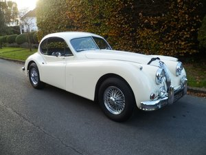 1955 JAGUAR  XK140  3.4Ltr FHC with upgrades For Sale