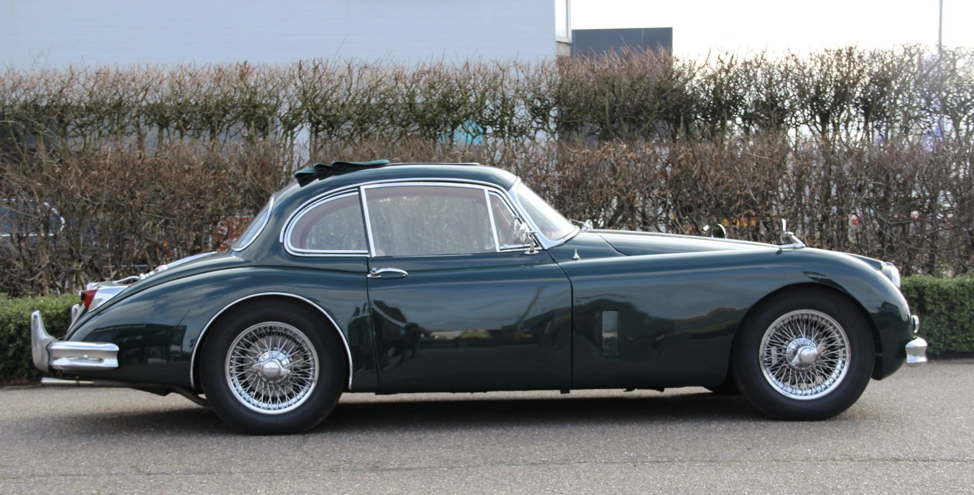 1957 Authentic beautiful Jaguar XK150 FHC For Sale (picture 6 of 6)