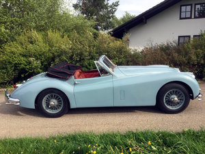 Picture of 1955 Jaguar XK 140 SE DHC, highly original car, unrestored For Sale
