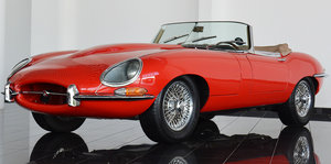 Picture of Ultra rare 1966 S1 E Type Roadster  SOLD