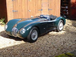 1952 JAGUAR C TYPE REPLICA ( ALL ALUMINIUM )