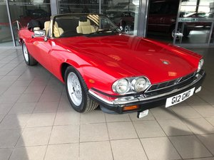 1989 Jaguar Xj-s Convertible Auto For Sale