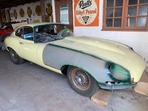 1968 Jaguar E Type Coupe SOLD by Auction