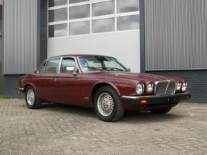 1984 Jaguar XJ-6 4.2 only 108.272 kms, Swiss car, first paint!