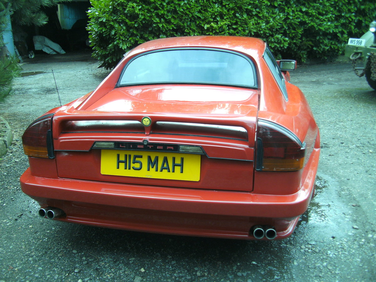 1991 Lister Jaguar XJS V12 For Sale (picture 4 of 6)