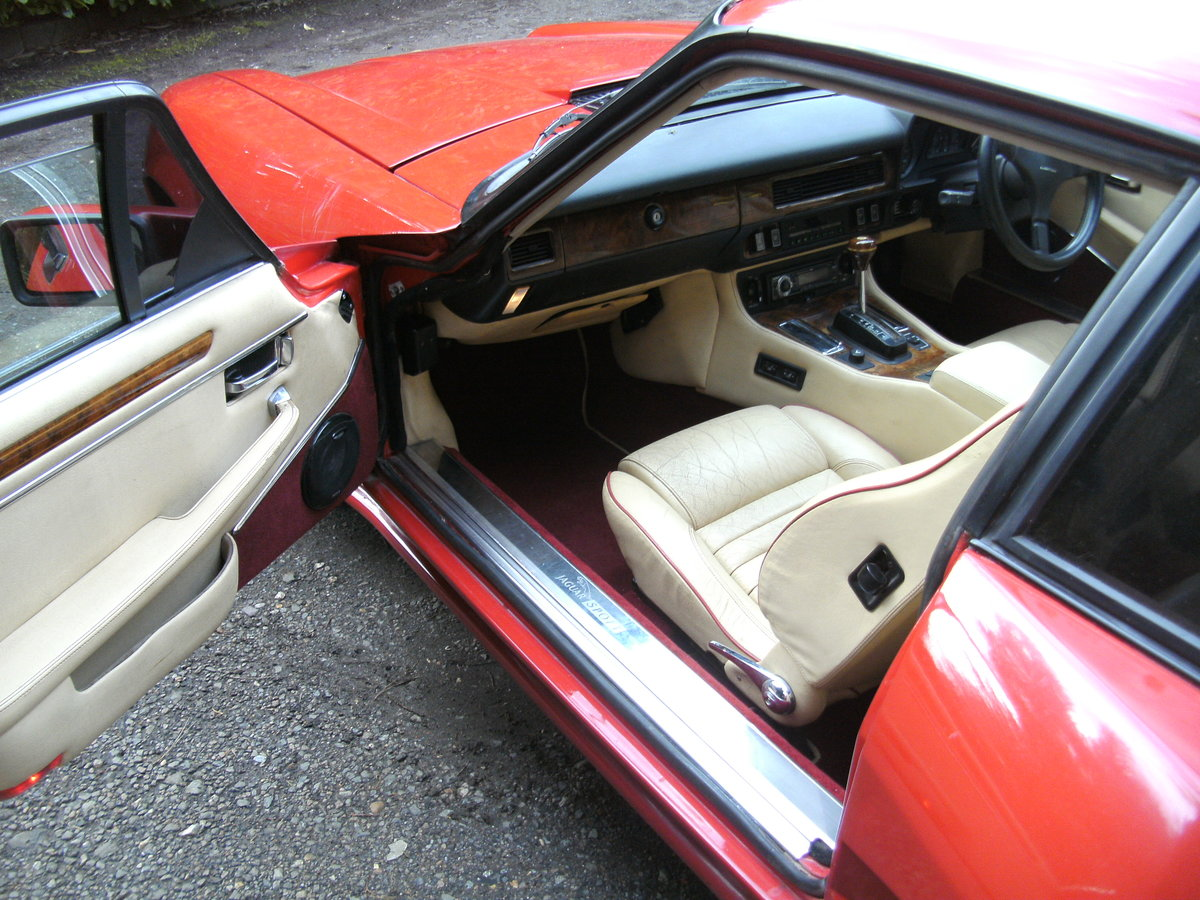 1991 Lister Jaguar XJS V12 For Sale (picture 5 of 6)