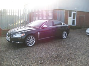 "2011 JAGUAR XF ""S"" low miles DAB radio full leather"