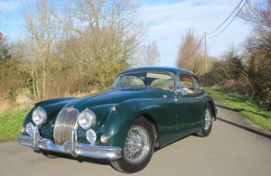 1957 Very charming Jaguar XK 150 FHC 3.4 liter from