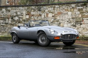 1974 Jaguar E-Type Series III Roadster For Sale by Auction