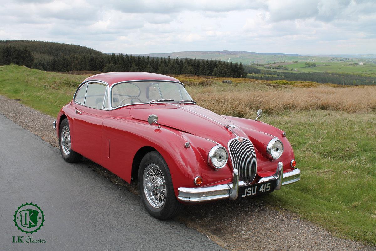 Freshly Restored 1958 Jaguar XK 150 FHC For Sale (picture 1 of 8)