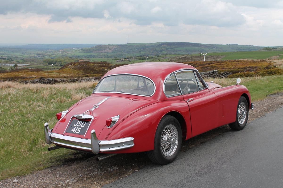 Freshly Restored 1958 Jaguar XK 150 FHC For Sale (picture 2 of 8)