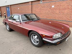 1982 Jaguar XJ-S 5.3 HE For Sale by Auction