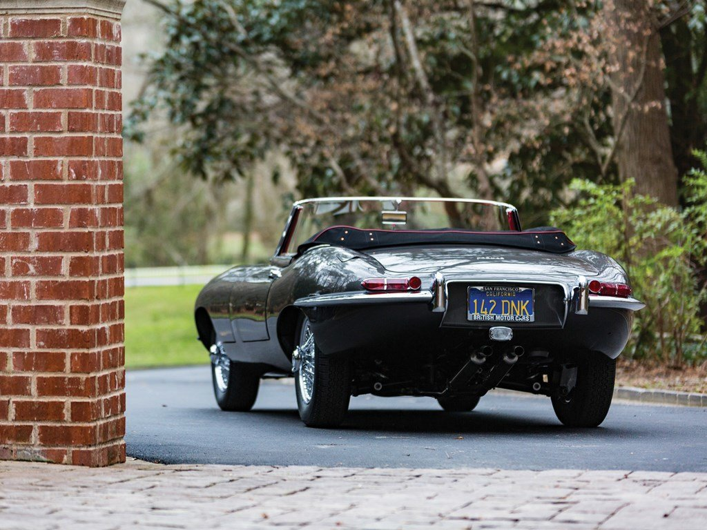 1961 Jaguar E-Type Series 1 3.8-Litre Roadster  For Sale by Auction (picture 2 of 6)