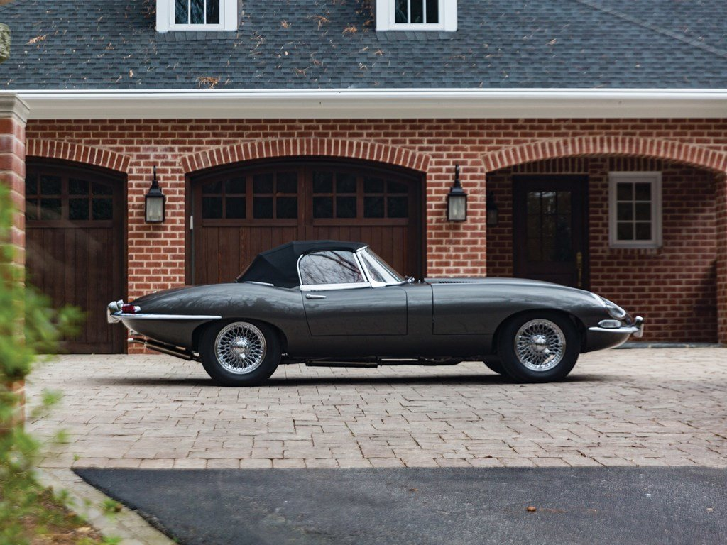 1961 Jaguar E-Type Series 1 3.8-Litre Roadster  For Sale by Auction (picture 6 of 6)