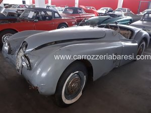 Jaguar xk 120 ots year
