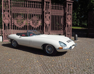 1962 Jaguar E Type Series 1 Flat Floor Roadster