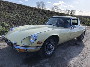 1972 Jaguar E-Type V12 Coupe ~ LHD