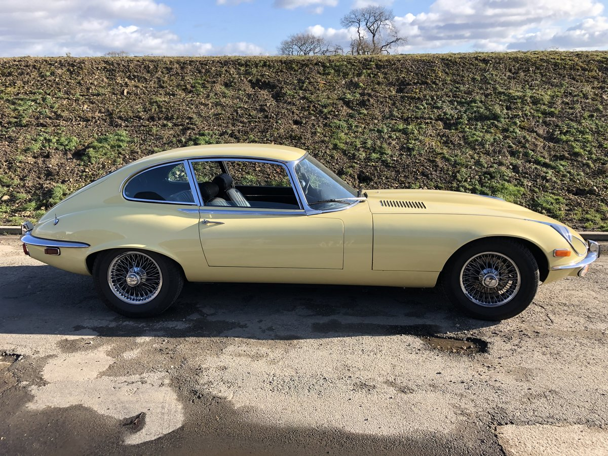 1972 Jaguar E-Type V12 Coupe ~ LHD For Sale (picture 1 of 6)