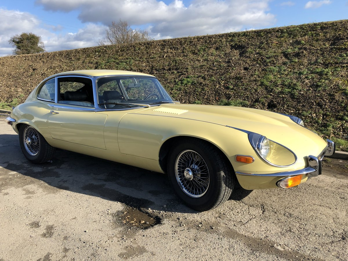 1972 Jaguar E-Type V12 Coupe ~ LHD For Sale (picture 2 of 6)