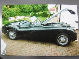 **NEW ENTRY** 1955 Jaguar XK140 Sports For Sale by Auction