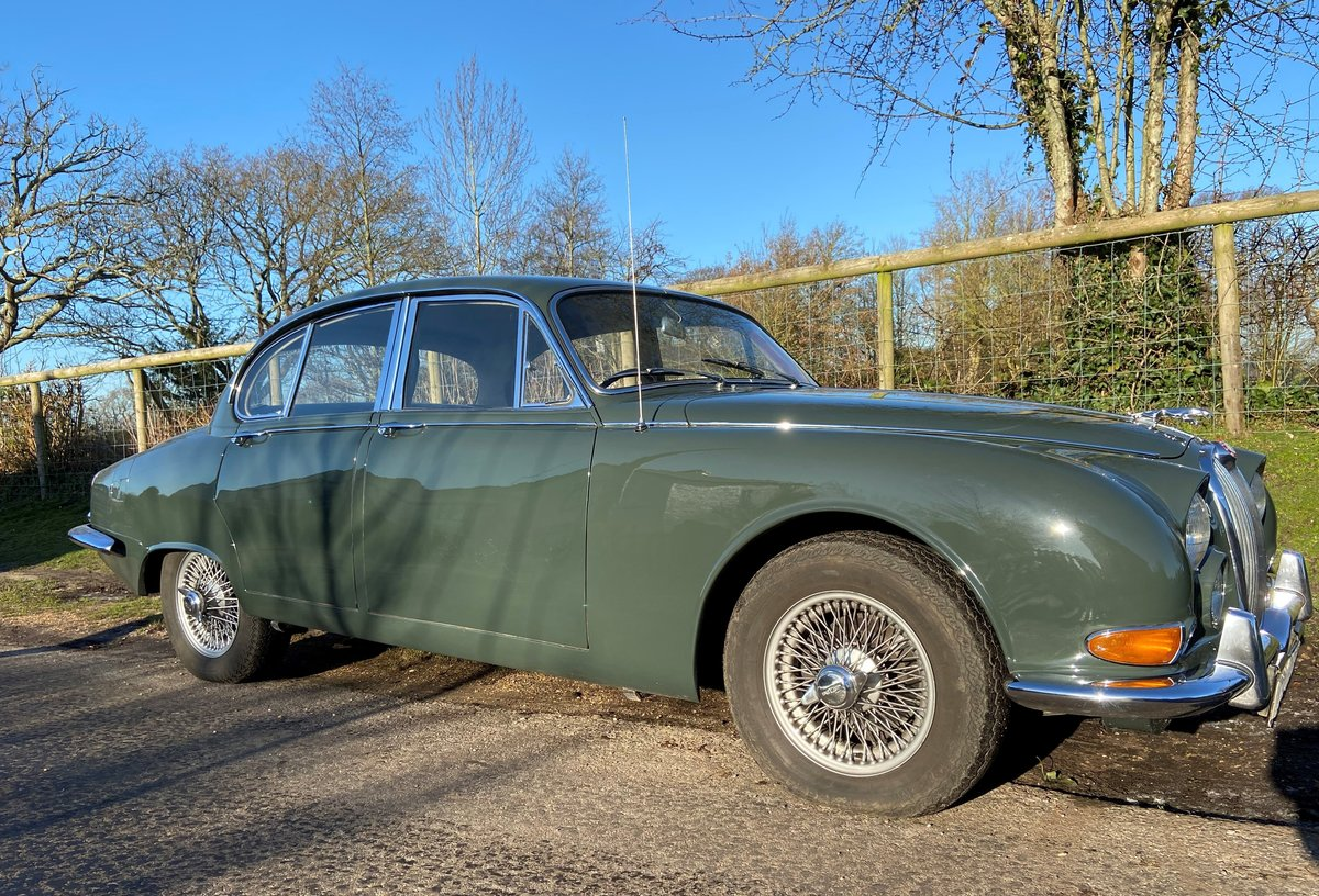 1964 Jaguar 3.8 S Type Manual with OD SOLD   Car And Classic