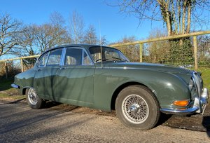 1964 Jaguar 3.8 S Type Manual with OD For Sale