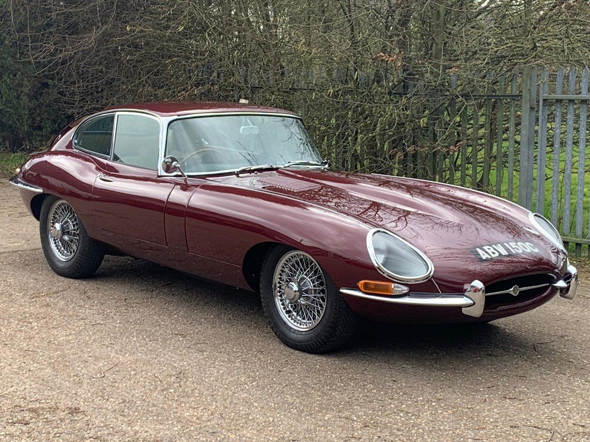 1965 Jaguar E Type S1 4.2 DOHC Coupe ( Fully Restored ) Manual For Sale (picture 1 of 6)