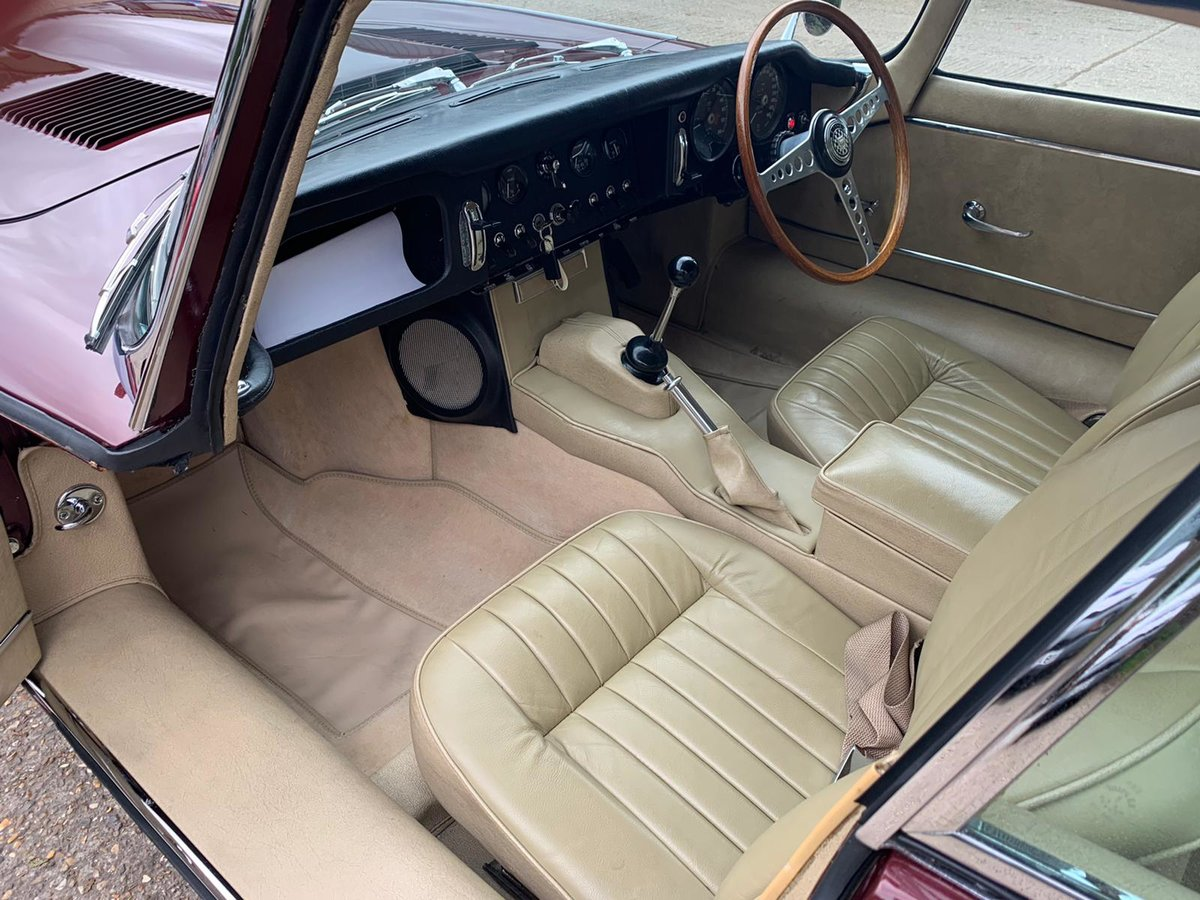1965 Jaguar E Type S1 4.2 DOHC Coupe ( Fully Restored ) Manual For Sale (picture 2 of 6)