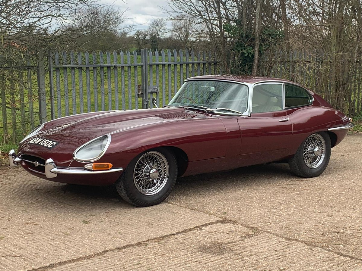 1965 Jaguar E Type S1 4.2 DOHC Coupe ( Fully Restored ) Manual For Sale (picture 3 of 6)